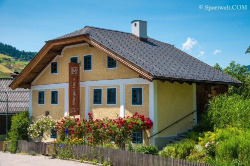 Waggerl-Haus Wagrain im Sommer